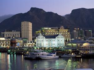 The Victoria and Alfred Waterfront, in the Evening, Cape Town, South Africa, Africa by Yadid Levy