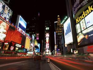 Times Square, New York, New York State, USA by Yadid Levy