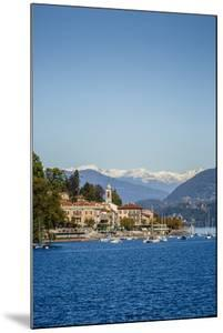 View over Belgirate, Lake Maggiore, Italian Lakes, Piedmont, Italy, Europe by Yadid Levy