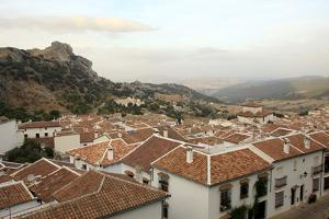 View over Grazalema Village at Parque Natural Sierra De Grazalema, Andalucia, Spain, Europe by Yadid Levy
