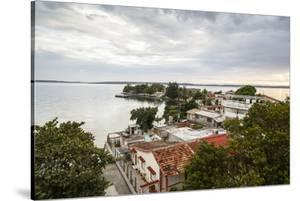 View over Punta Gorda and the Cienfuegos Bay, Cienfuegos, Cuba, West Indies, Caribbean by Yadid Levy