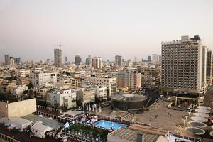 View over the Skyline of Tel Aviv, Israel, Middle East by Yadid Levy