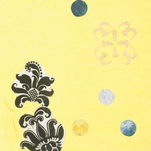 Delightful in Creamery Yellow I by Yafa