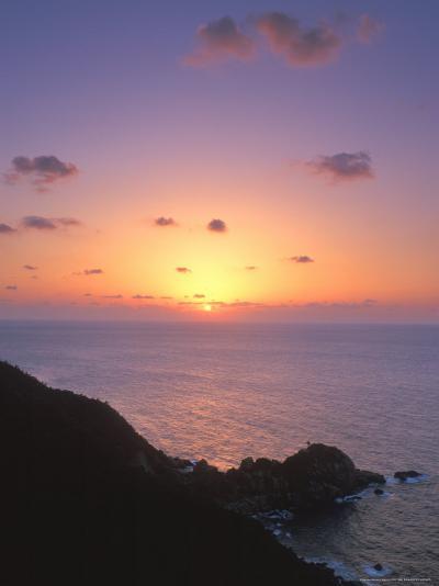 Yakushima Sunset, Kagoshima, Japan-Rob Tilley-Photographic Print