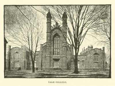 Yale College--Giclee Print