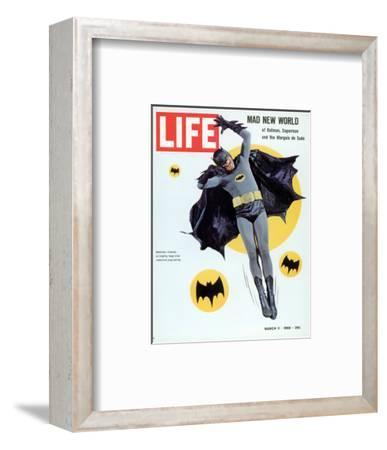 Adam West as Superhero Batman, March 11, 1966