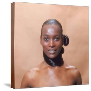 African American Fashion Model Naomi Sims by Yale Joel