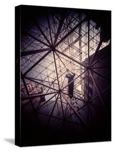 Buckminster Fuller Explaining Principles of Dymaxion Building by Yale Joel
