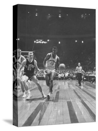 Captain of Cincinnati University Oscar Robertson During Game with St. Joseph's College