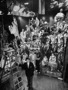 Cast Members of the Grand Ole Opry by Yale Joel