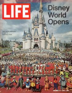 Disney World Opens, October 15, 1971 by Yale Joel