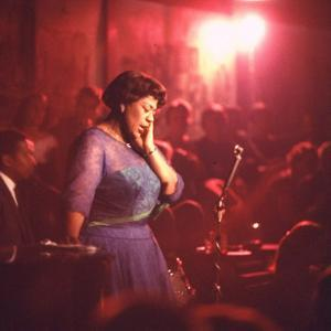 "Jazz Singer Ella Fitzgerald Performing at ""Mr. Kelly's"" Nightclub by Yale Joel"