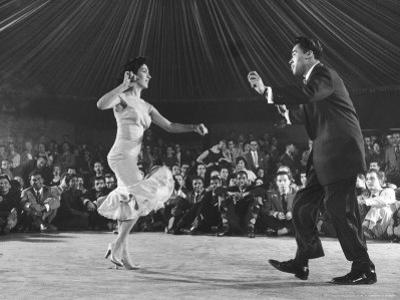 Professional Cuban Dance Team Known as Pete and Millie Showing Off the Mambo