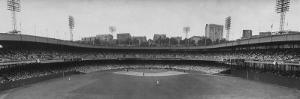Scene from the Polo Grounds, During the Giant vs. Dodgers Game by Yale Joel