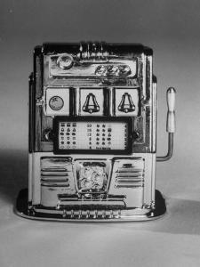Slot Machine known as a One-Armed Bandit by Yale Joel