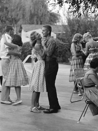 Teenager Suzie Slattery Dancing with Boyfriend Ted Sten