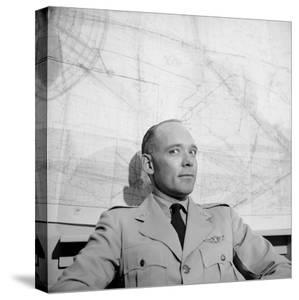 Us Air Force Lieutenant Colonel David G. Simons known for Project Manhigh Ii. Minneapolis, 1957 by Yale Joel