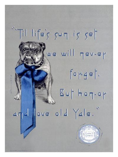 Yale University, c.1930--Giclee Print
