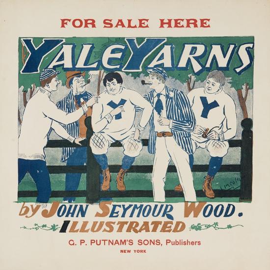 Yale Yarns Poster--Giclee Print
