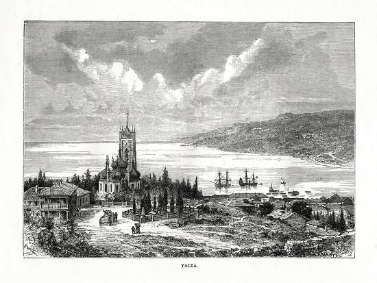 Yalta, Southern Ukraine, 1879-C Laplante-Giclee Print