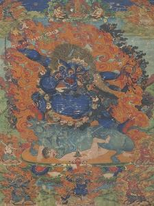 Yama, sous son aspect Las-gshin dpa'-gcig