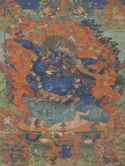 Yama, sous son aspect Las-gshin dpa'-gcig--Giclee Print