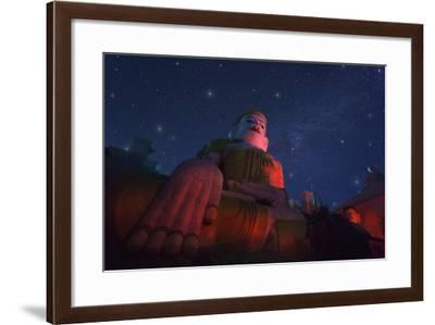 Yan Aung Nan Aung Hsu Taung Pyi Pagoda-Jon Hicks-Framed Photographic Print