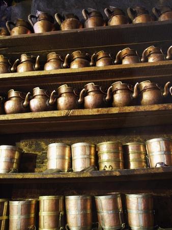 Vessels at Drepung Temple