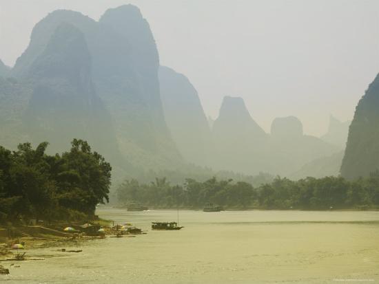 Yangshuo, Li River, Guangxi Province, China, Asia-Angelo Cavalli-Photographic Print