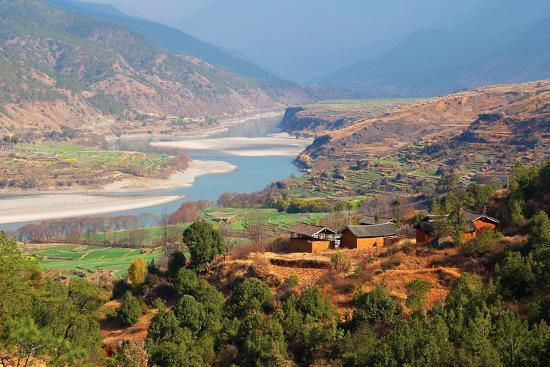 Yangtze River, Yunnan, China, Asia-Bruno Morandi-Photographic Print