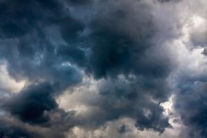 Background from the Sky and Dark Storm Clouds by Yanika