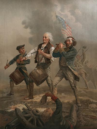 Yankee Doodle 1776-A^ M^ Willard-Photographic Print