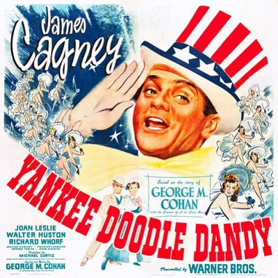 Yankee Doodle Dandy, US poster, James Cagney, 1942