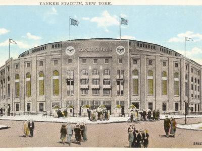 Yankee Stadium - New York--Photographic Print