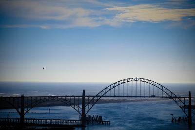Yaquina Bay Bridge II-Erin Berzel-Photographic Print