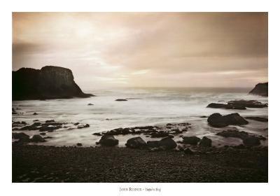 Yaquina Bay-John Rehner-Art Print