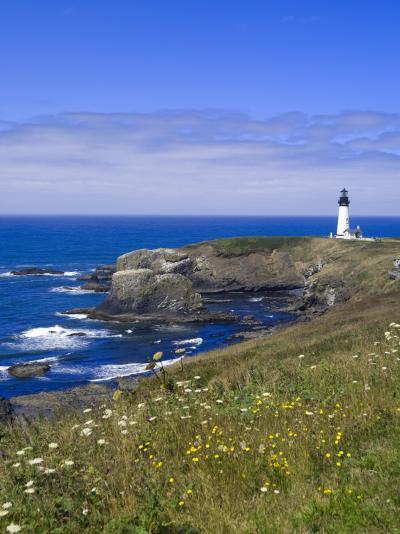 Yaquina Head Lighthouse, Oregon, United States of America, North America-DeFreitas Michael-Photographic Print