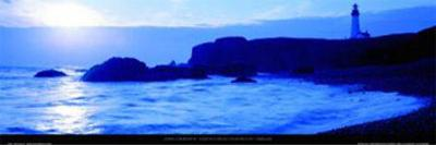 Yaquina Head Lighthouse - Oregon-John Lawrence-Art Print