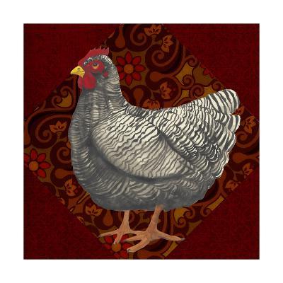 Yard Bird IV-Grace Popp-Art Print