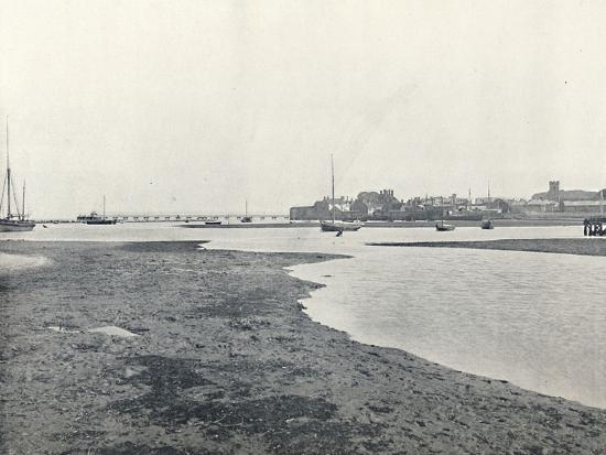 'Yarmouth (Isle of Wight) - General View', 1895-Unknown-Photographic Print