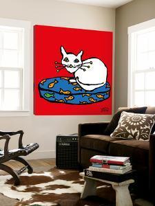 White Cat by Yaro
