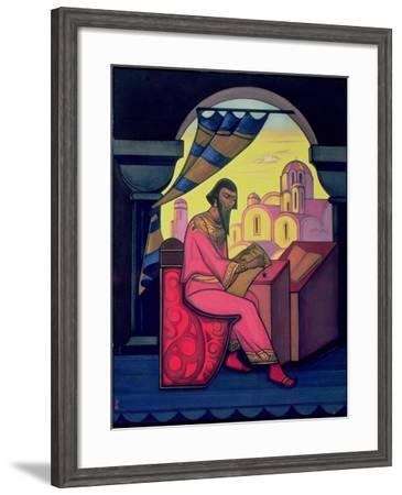 Yaroslav the Wise-Nikolai Konstantinovich Rerikh-Framed Giclee Print