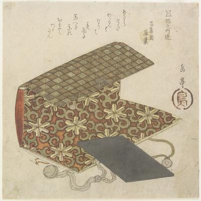 Patterned Folder for Horinouchi Circle, Mid 19th Century