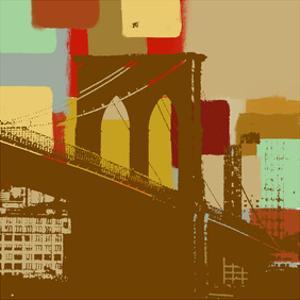 Brooklyn Bridge in New York by Yashna