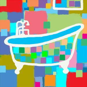 Colorful Bath I by Yashna