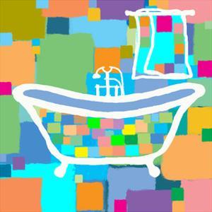 Colorful Bath III by Yashna