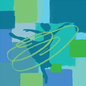 Hypnotic Dance I by Yashna