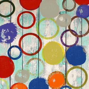 Rainbow Circles I by Yashna
