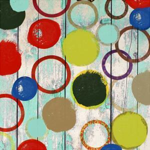 Rainbow Circles II by Yashna