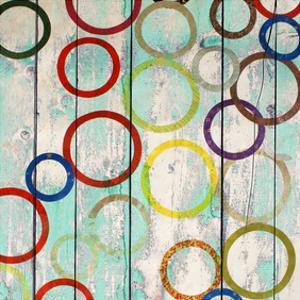 Rainbow Circles IV by Yashna